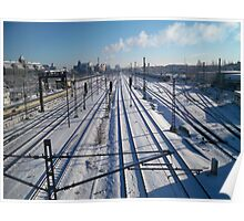 cold railways Poster