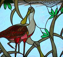 Natural Stained-Glass Art by artisandelimage