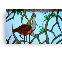 Natural Stained-Glass Art Canvas Print