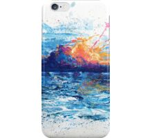 Sun front iPhone Case/Skin