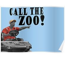 CALL THE ZOO! Poster