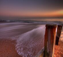 Hayling Beach - HDR by LeeMartinImages