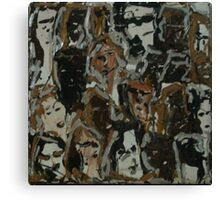 The Collective Female Consciousness #2 Canvas Print