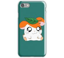 Hamtaro with Leaf iPhone Case/Skin