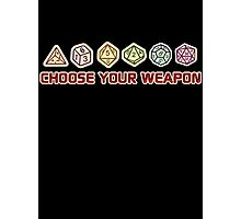 Dungeons And Dragons Choose Your Weapon Photographic Print