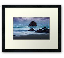 Big Sur at Twilight Framed Print