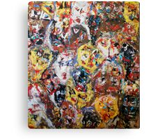 Elevation of The Collective Human Consciousness Canvas Print