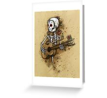 Calaca Greeting Card