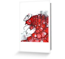 Fan Fish Greeting Card