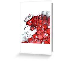 Fan Fish Greeting Card