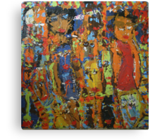 Kickin' It With The Girls #3 Canvas Print