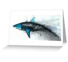 Shark Exoskeleton Greeting Card