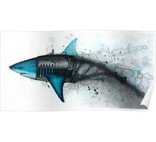 Shark Exoskeleton Poster