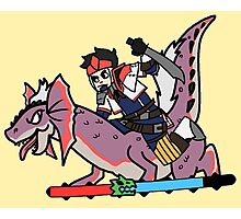 Monster Hunter 4 Ultimount Photographic Print