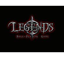 Legends Logo Photographic Print