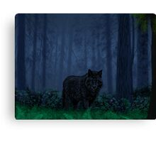 The Timber Wolf Canvas Print