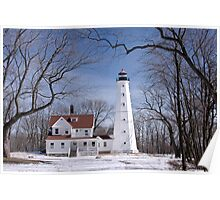 Milwaukee Lighthouse Poster