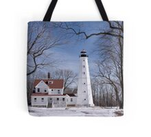 Milwaukee Lighthouse Tote Bag