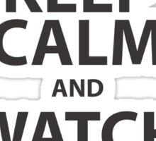 keep calm marvel Sticker