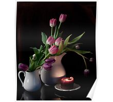 The Beauty of Tulips Poster