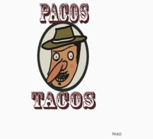 Pacos Tacos One Piece - Short Sleeve
