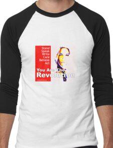 Revolt Men's Baseball ¾ T-Shirt