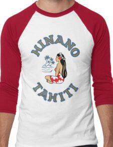 Hinano Tahiti Beer Men's Baseball ¾ T-Shirt