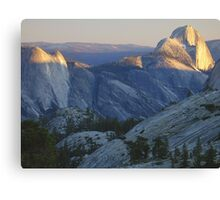 Evening Sunlight, Olmsted Point Canvas Print