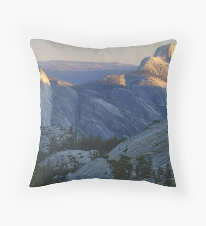 Evening Sunlight, Olmsted Point Throw Pillow