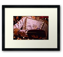 Is This Slipper Yours? Framed Print