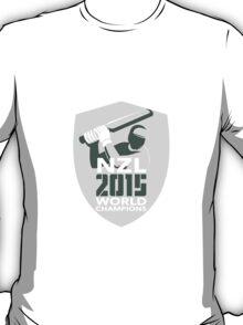 New Zealand Cricket 2015 World Champions Shield T-Shirt