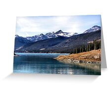 Abraham Lake Greeting Card