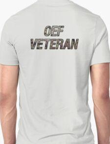 OEF Veteran Multicam Text T-Shirt