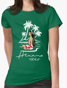 Hinano Tahiti Beer Womens Fitted T-Shirt