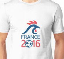 France 2016 Europe Football  Championships Unisex T-Shirt