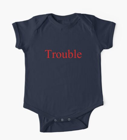 Trouble One Piece - Short Sleeve