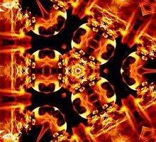 fire dna  by Cheryl Dunning