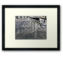 Clouds Below from Above the 'Alexander Stewart' Framed Print