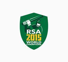 South Africa Cricket 2015 World Champions Shield Unisex T-Shirt