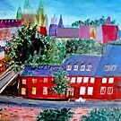 View  Upper  Quebec City    ( My Paintings )  by Rick  Todaro