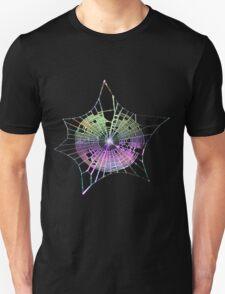 Rainbow Spider Web Unisex T-Shirt