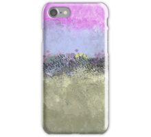 Abstract Pastel Flower Garden iPhone Case/Skin