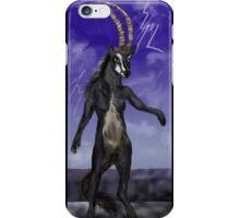 Sable Antelope Human Anthro iPhone Case/Skin