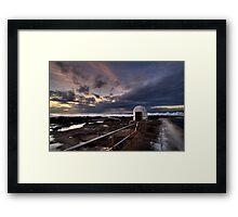 Merewether Sunrise Framed Print