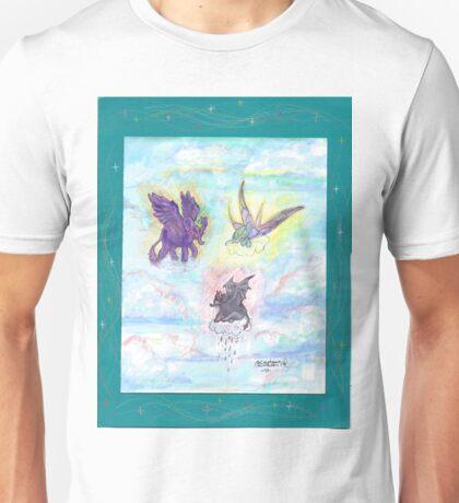 Winged Elephants Unisex T-Shirt