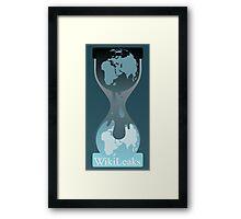 Wikileaks Framed Print