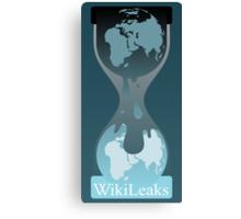 Wikileaks Canvas Print