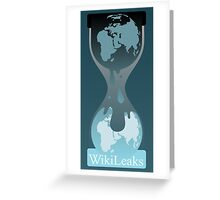Wikileaks Greeting Card