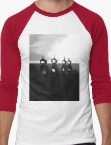 Creepy Teletubbies Men's Baseball ¾ T-Shirt