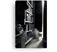 who read them anymore? Canvas Print